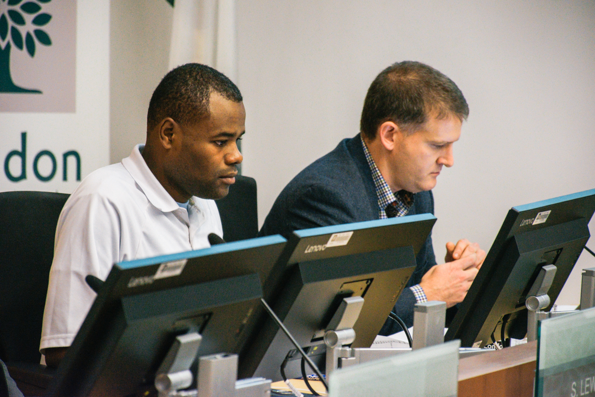 The motion is set to be moved by Ward 3 Coun. Mohamed Salih, left, and seconded by Deputy Mayor Jesse Helmer, right, during city council's next meeting.