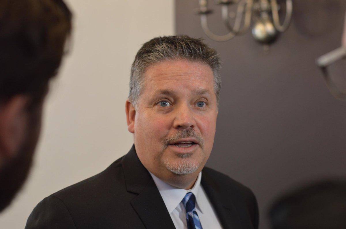 Scot Wortley speaks to media at Halifax City Hall on Dec. 13, 2018.
