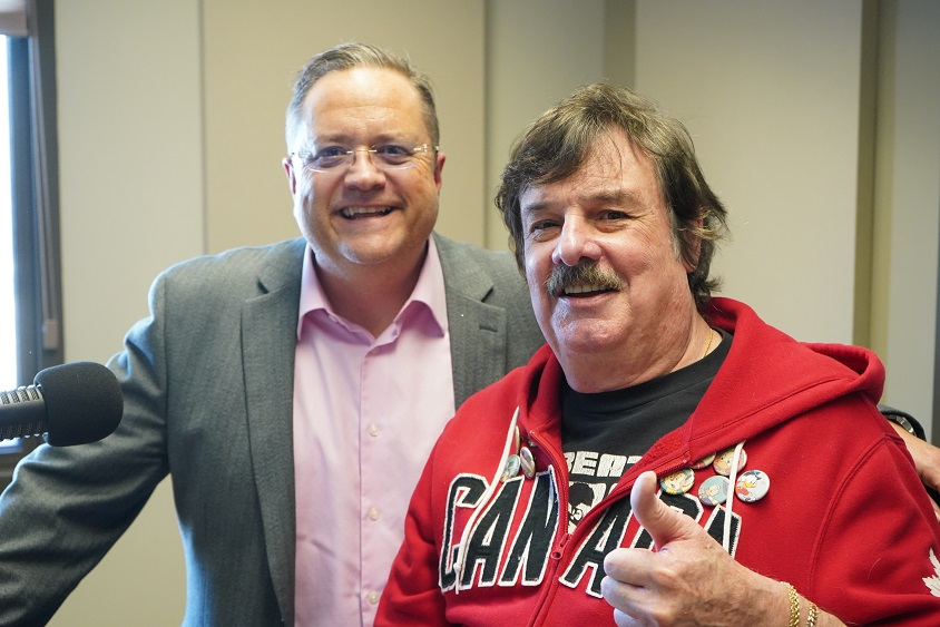 Legendary Winnipeg rocker Burton Cummings appeared on radio with Rob Carnie in his new home of Moose Jaw.