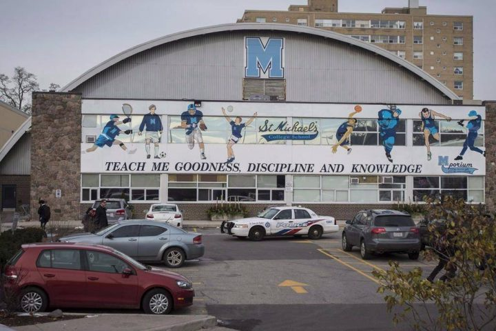 St. Michael's College School was rocked by allegations of sexual assault last year.