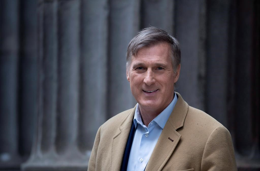 People's Party leader Maxime Bernier is seen in Montreal on Friday, December 14, 2018. Bernier, leader of the nascent People's Party of Canada, recently appeared on a Quebec TV news panel, the pundits laughed at his suggestion that Ottawa could force an oil pipeline through the province. THE CANADIAN PRESS/Paul Chiasson.