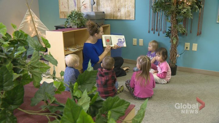 The Saskatchewan government says more affordable child care centre spaces have been allocated in Saskatoon, Delisle, Regina, Moose Jaw and Humboldt.