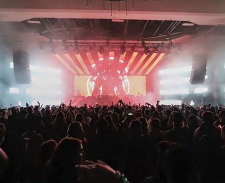 Three people were taken to hospital after attending the Get Together EDM party at Edmonton's Shaw Conference Centre on Thursday.