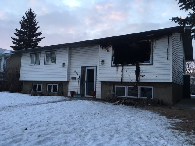 A man died in a fire in the Calgary community of Marlborough Park on Dec. 24, 2018.