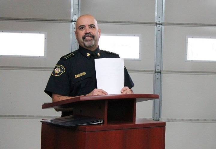 Naramata fire chief Tony Trovao has been on administrative leave since late October.