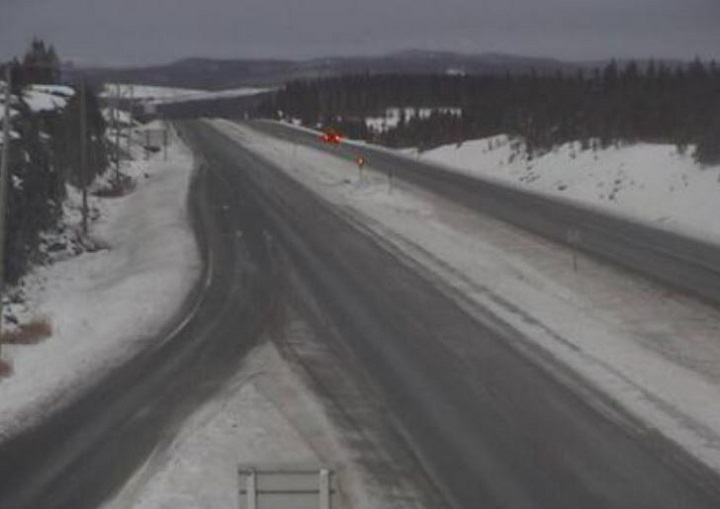 Environment Canada is warning of strong wind gusts Friday evening and overnight throughout B.C.'s Southern Interior. Motorists should be prepared for blowing snow and poor visibility along the Coquihalla Highway and Okanagan Connector.
