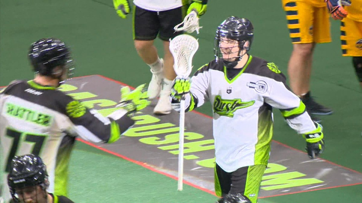 Robert Church, a key member of the Saskatchewan Rush, has signed a new three-year contact with the NLL team.