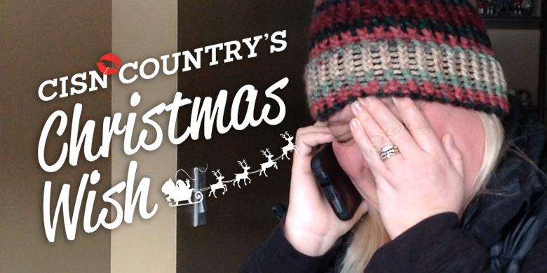 CISN Country's Christmas Wish surprises Vanessa - image