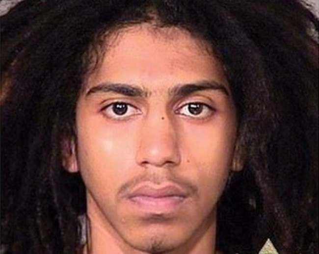 Abdulrahman Sameer Noorah seen in an undated photo provided by the Multnomah County Sheriff's Department.