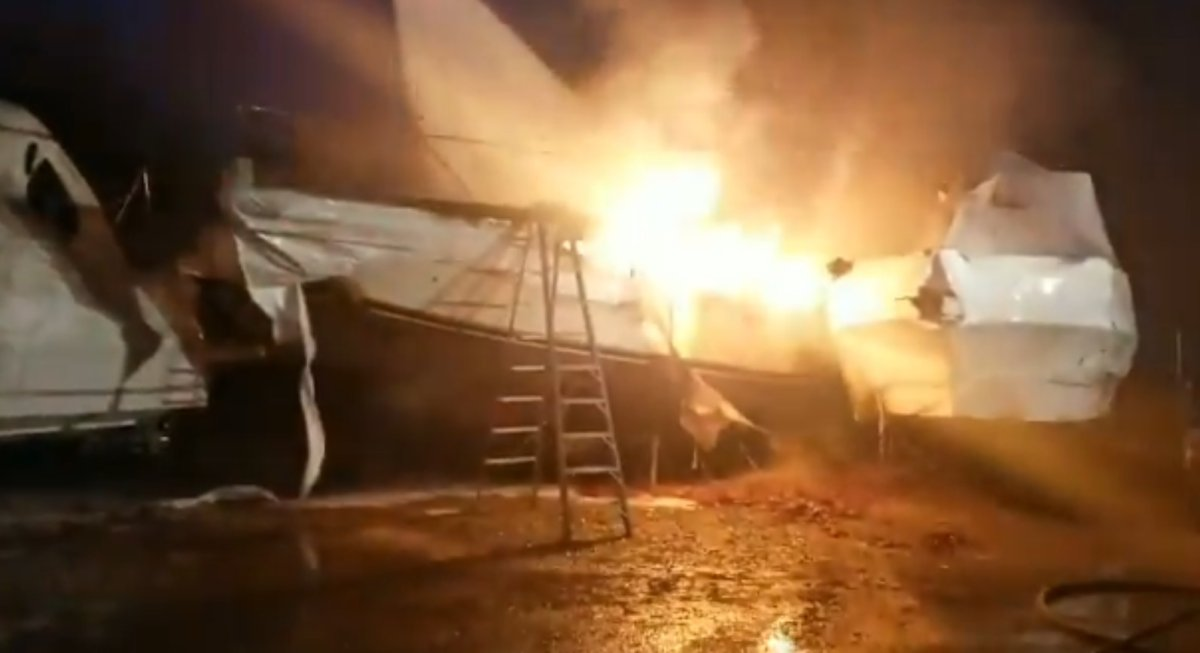 Fire does $1M in damage at boat storage facility near Simcoe - image