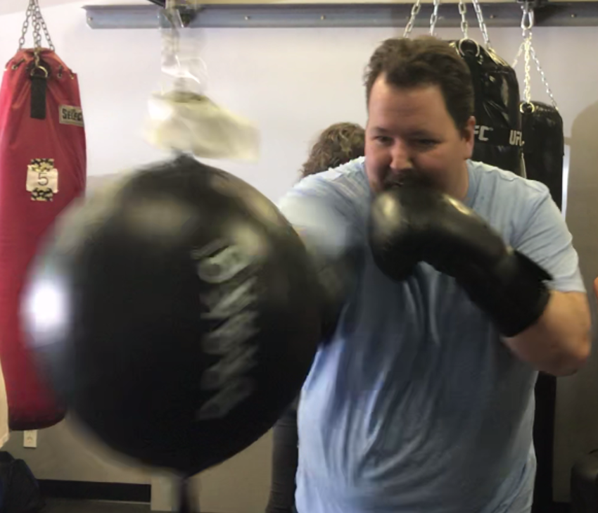 Larry Gifford boxing.