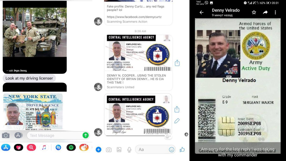 Fotos 2018 scamming love Romance scams