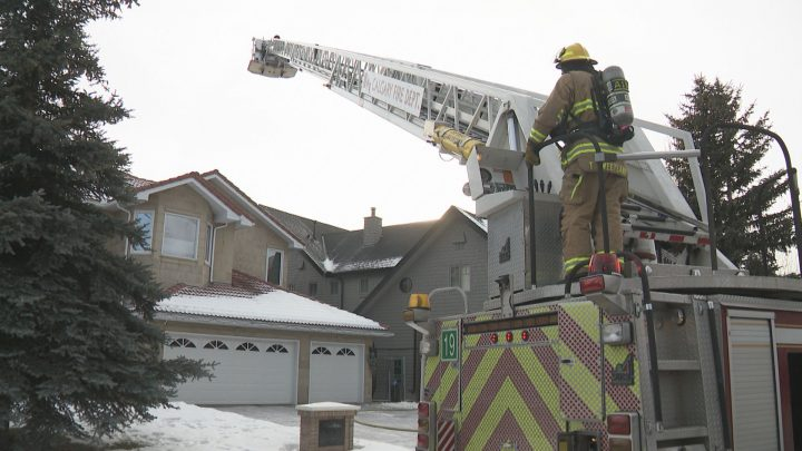The Calgary Fire Department was kept busy on Sunday, responding to two fires in the city's southwest.
