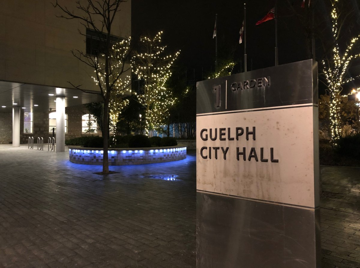 Guelph city hall.