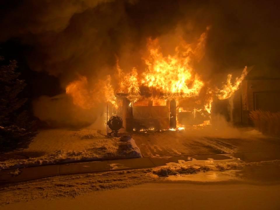 December 3, 2018 house fire in Coalhurst.