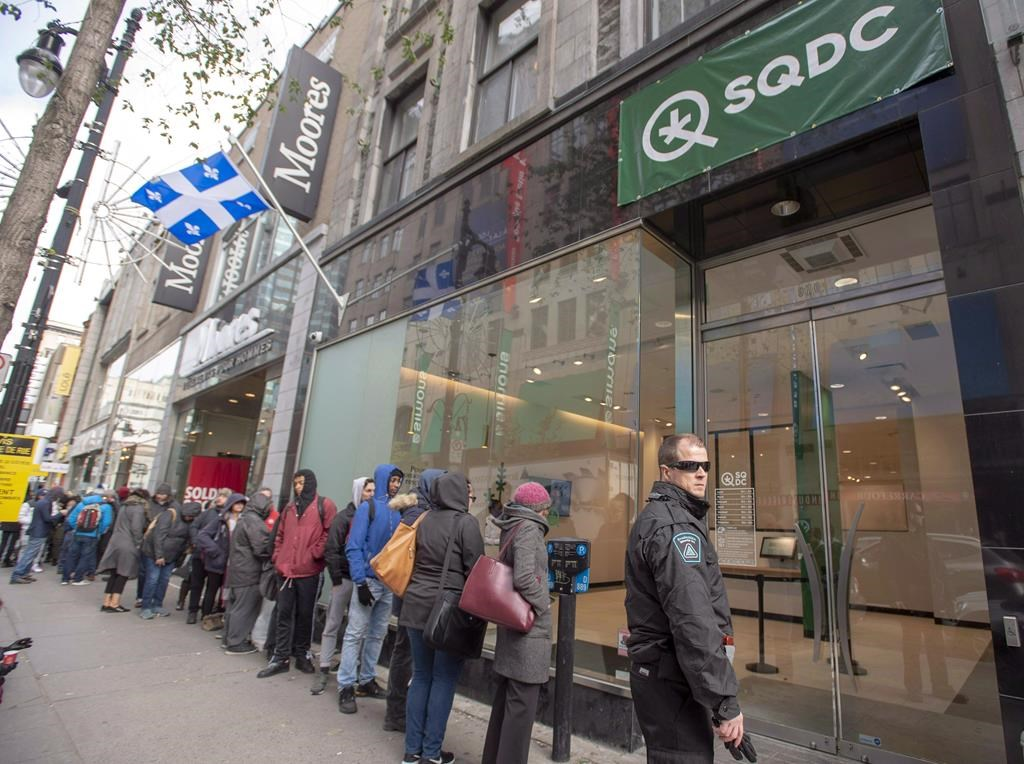 The SQDC says it expects to become profitable in the current fiscal year.