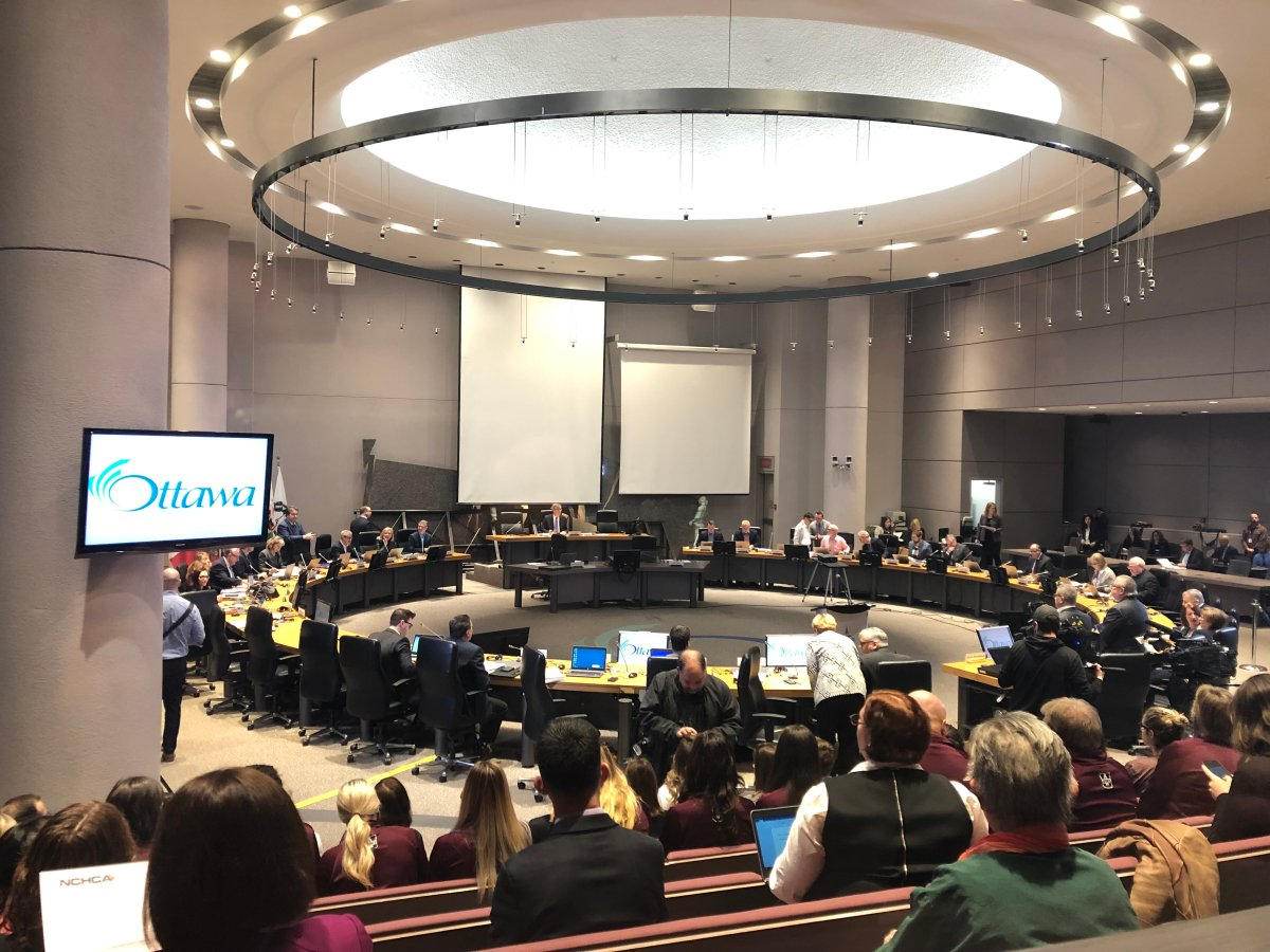 Ottawa city council convenes for its first meeting of the 2018-2022 term on Wednesday, Dec. 12, 2018.
