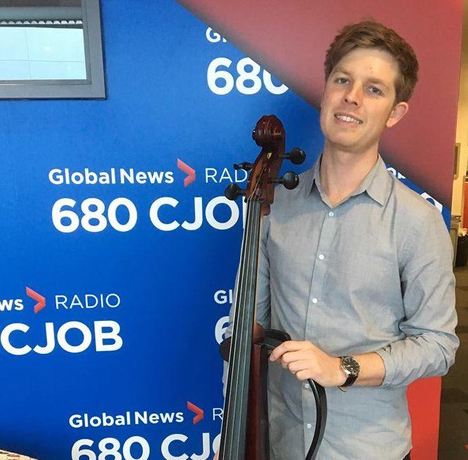 Australian cellist Rob Knaggs.