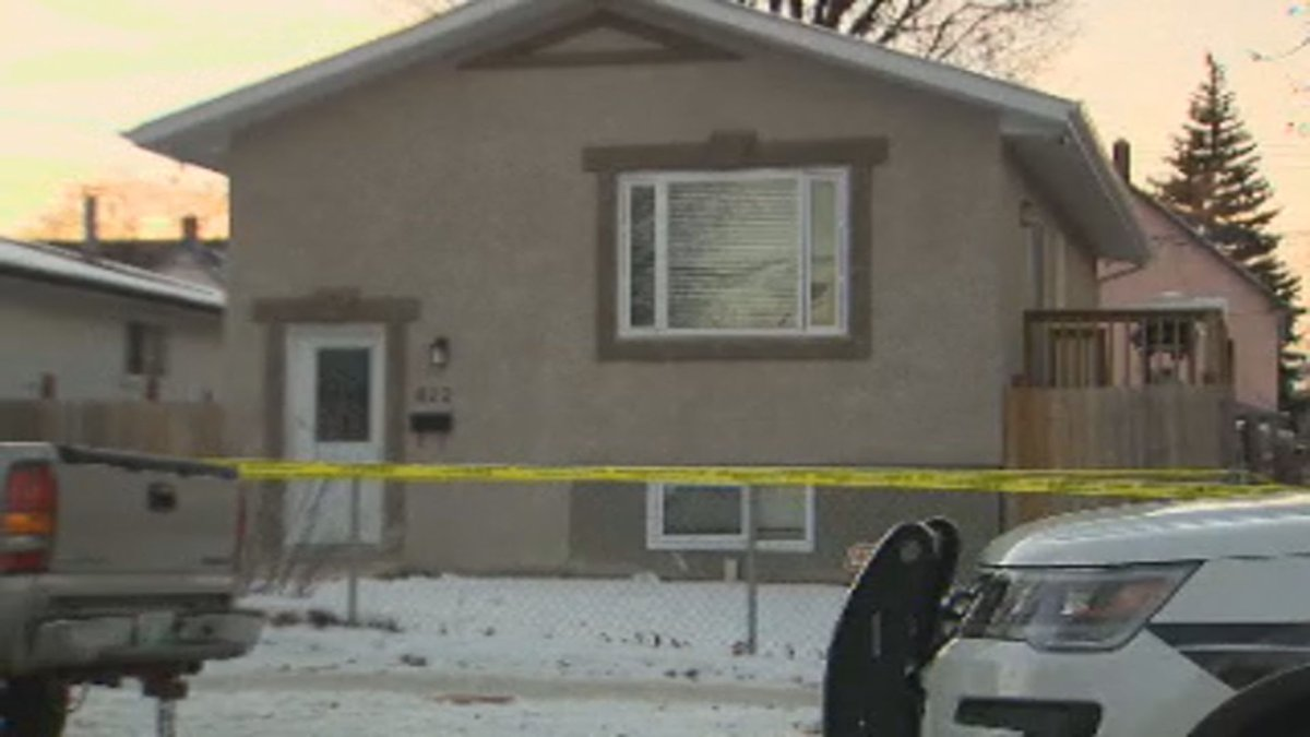 Winnipeg police are investigating a homicide on McGee Street.