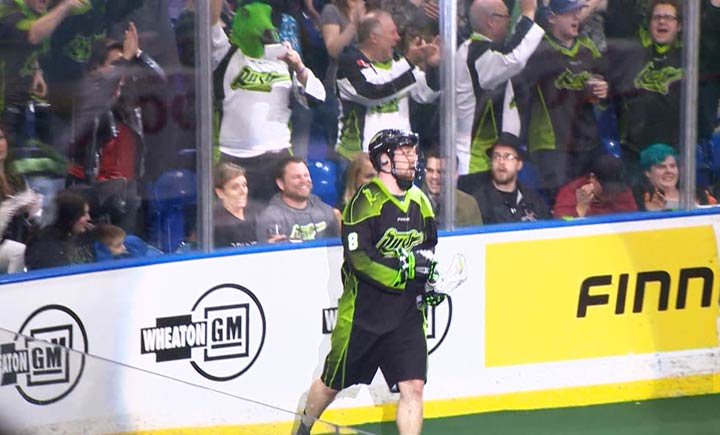 The Saskatchewan Rush announced Dec. 27 it had signed defenceman Mike Messenger to a new three-year deal.