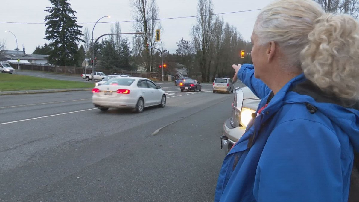 Someone stole Anne Marie Behan's phone while she was cradling the neck of a crash victim.
