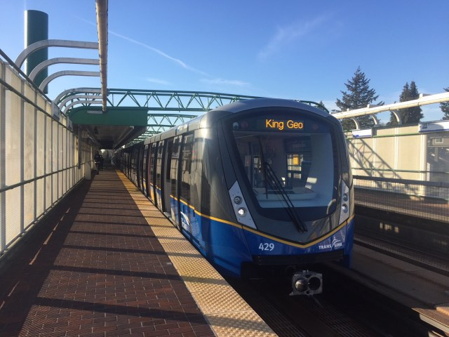 TransLink's new Mark III SkyTrain is operating on Expo and Millennium line tracks, but passengers can't board it quite yet.