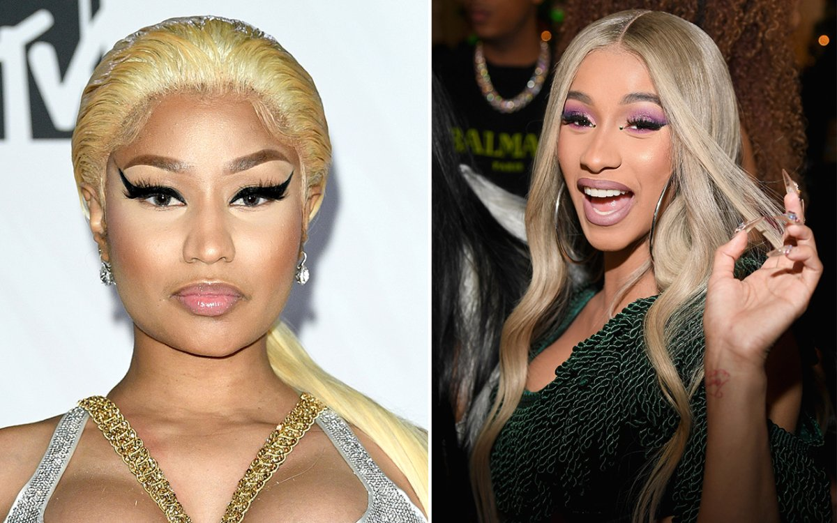 Nicki Minaj and Cardi B were just some of the celebs to get into highly publicized feuds this year.