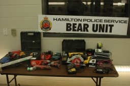 Continue reading: Hamilton police investigation leads to the recovery of a new haul of stolen property