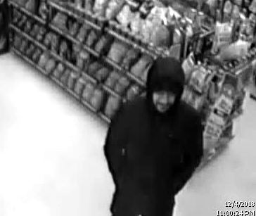 Police are looking to identify this man, who robbed a convenience store in Elmsdale on Tuesday.