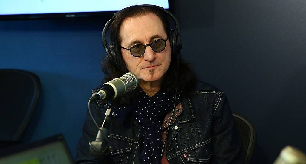Geddy Lee visits the SiriusXM Studios on Dec. 18, 2018, in New York City.