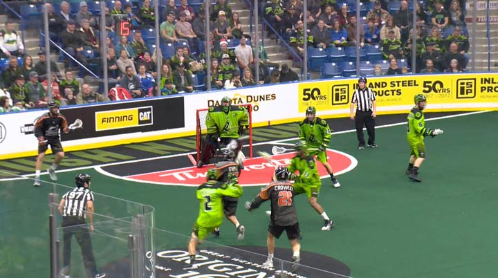 The Saskatchewan Rush get their 2018-19 season started on the road as they visit the New England Black Wolves on Friday.