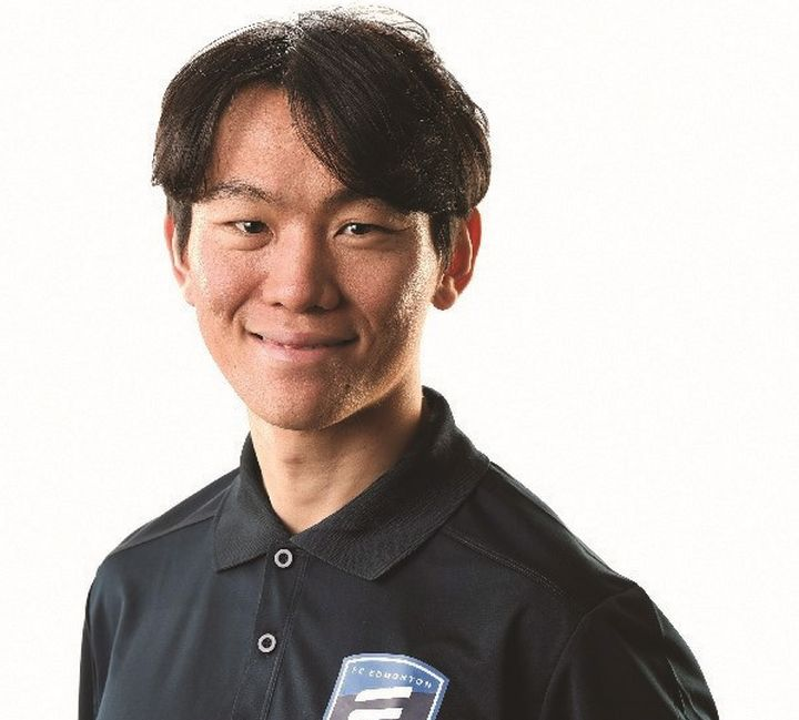 FC Edmonton has made South Korean midfielder Son Yongchan, shown in a handout photo, its first international signing.