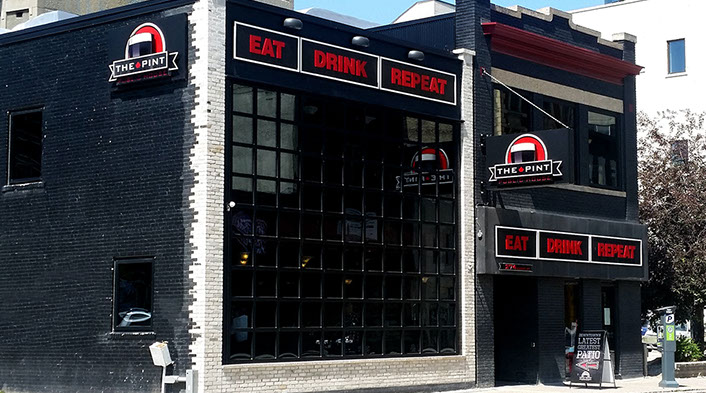 The Pint in Winnipeg will close its doors in February 2019.