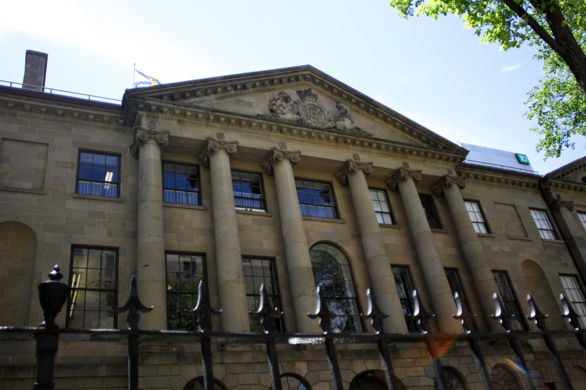 The Province House on Hollis St. Halifax, N.S., June 11. 2012.