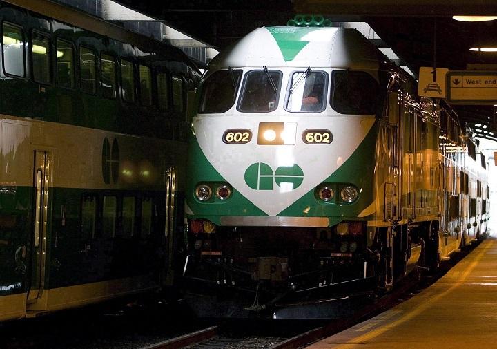 File photo. GO Transit.