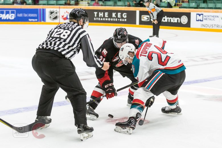A disappointing win for the Kelowna Rockets on Friday night against the Prince George Cougars.