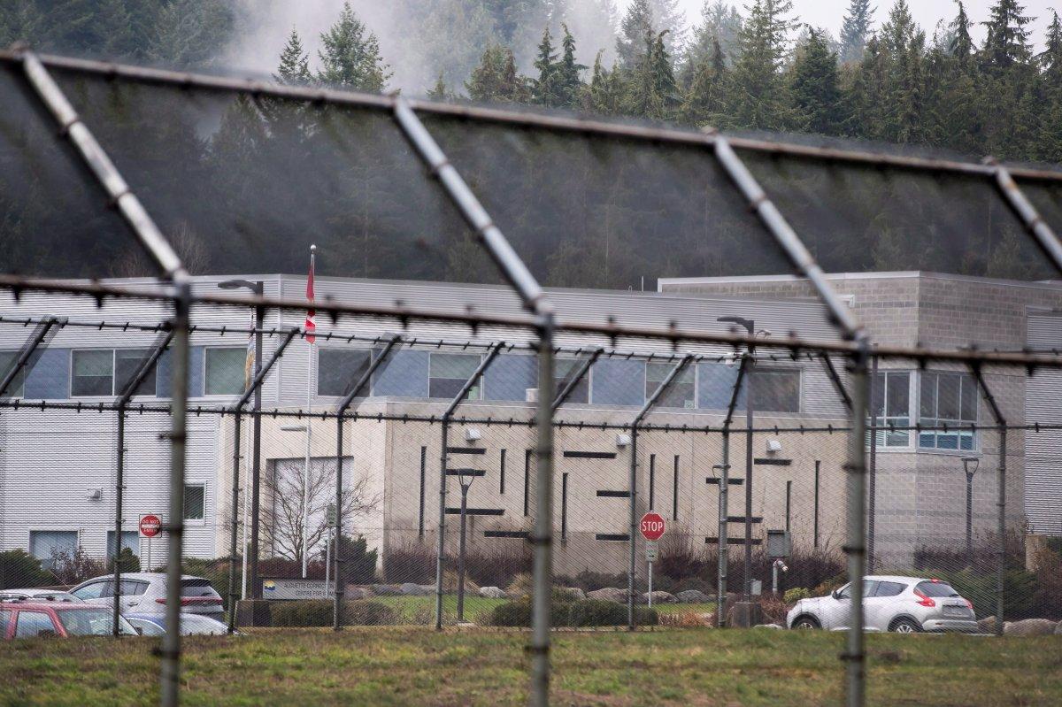 The Alouette Correctional Centre for Women is seen in Maple Ridge, B.C., Dec. 10, 2018.