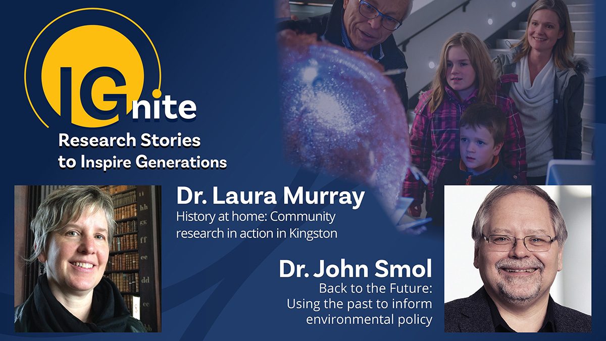 Short talks from two Queen's University researchers and a variety of science and technology demos, posters and photos from the Art of Research exhibit. A chance for inquisitive minds to connect with the research happening in Kingston.