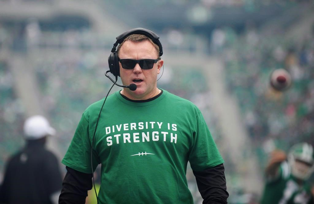 The Saskatchewan Roughriders' head coach and general manager Chris Jones is leaving the CFL team and heading to the NFL.