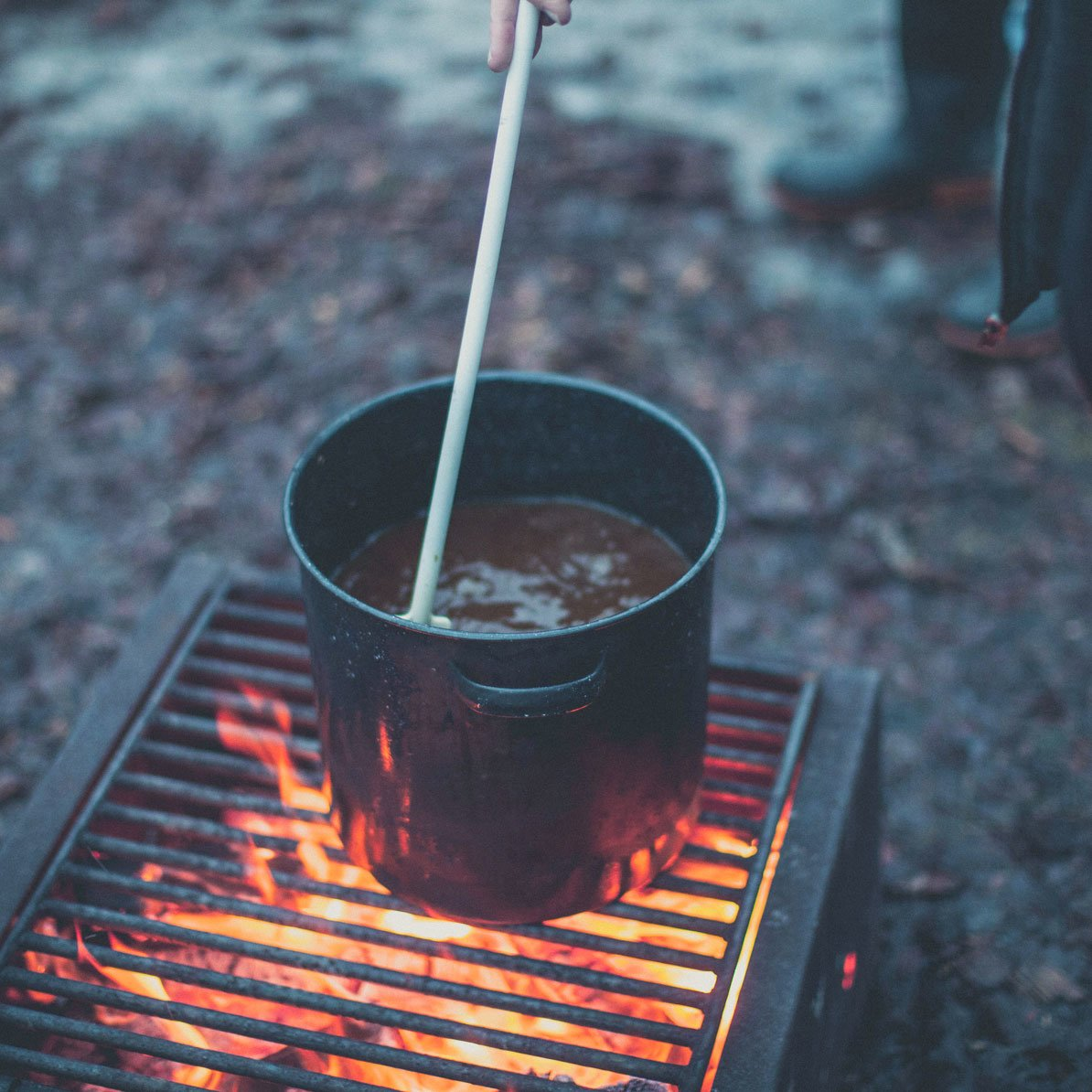Open-fire brewing classes are offered at Fort Whyte Alive.