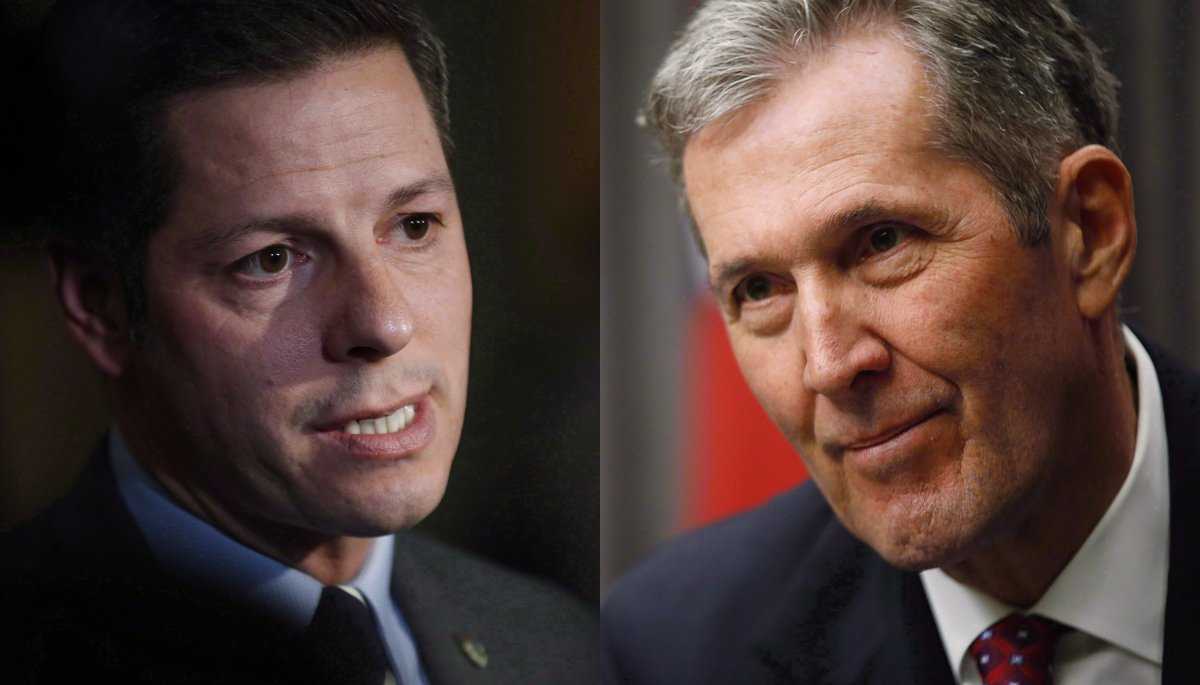 Winnipeg mayor Brian Bowman has requested a meeting with Manitoba premier Brian Pallister.