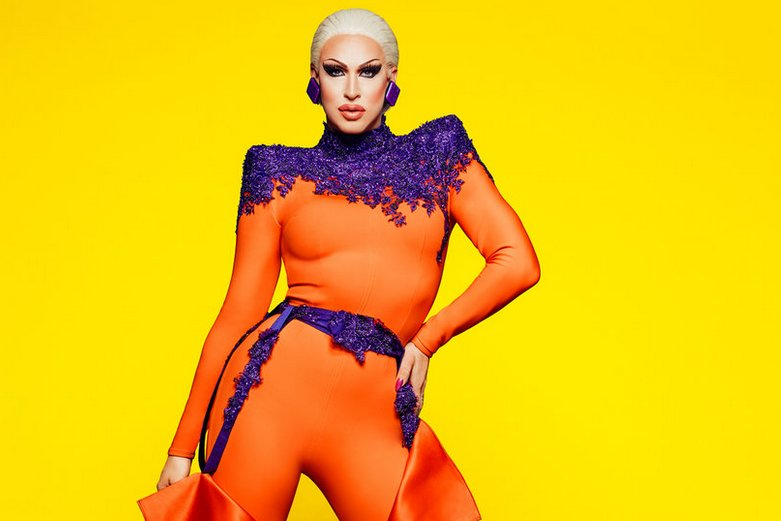 Drag queen performer Brooke Lynn Hytes.