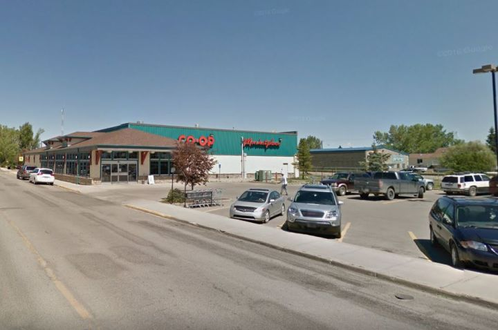 The Westview Co-op grocery store in Carstairs.