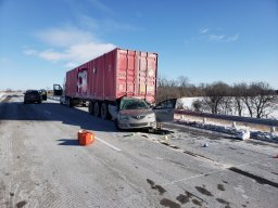 Continue reading: Collision shuts down eastbound Hwy. 401 in Tilbury