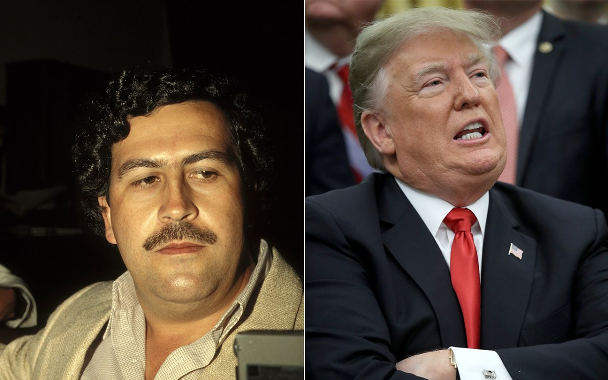 Pablo Escobar's brother, Roberto Escobar, has started a GoFundMe page to raise money for the impeachment of U.S. President Donald Trump.