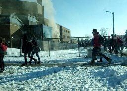 Continue reading: Students and staff safely evacuated after fire at Saunders Secondary School
