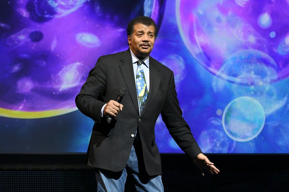 American Astrophysicist Neil deGrasse Tyson speaks onstage during the Onward18 Conference - Day 1 on Oct. 23, 2018 in New York City.