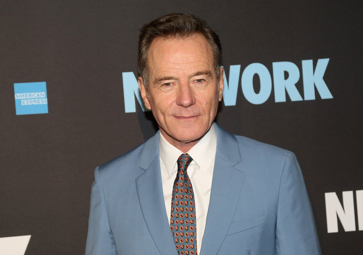 Bryan Cranston poses at the opening night after party for the play 'Network' on Broadway at Jack Studios on Dec. 6, 2018 in New York City.