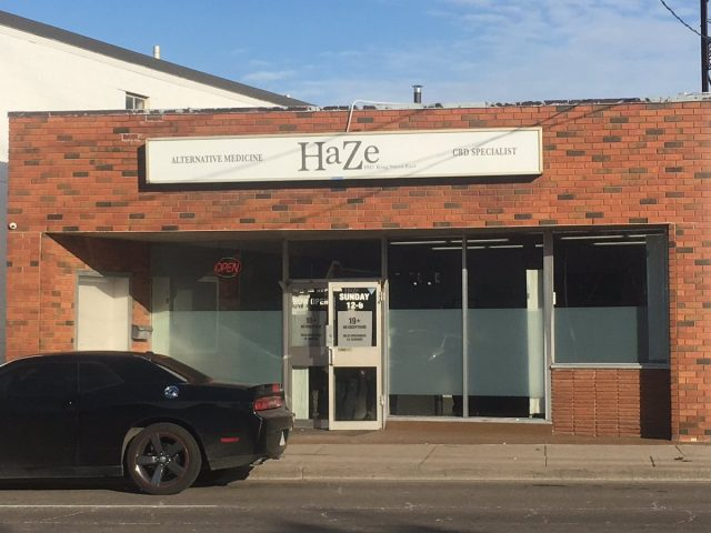Hamilton police executed a search warrant Friday morning at 1917 King St. E. as they continue targeting illegal cannabis dispensaries.