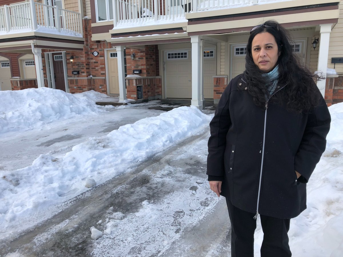 Barrhaven resident Rina Gibbons says she spent hours shovelling her driveway after a local snow removal company she paid for was a no-show during this week's winter storm.